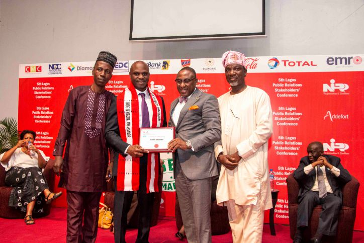 BIGI BOSS BAGS MADE IN NIGERIA AMBASSADOR AWARD Nigerian Institute of Public Relations