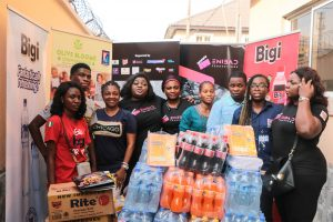 Eniola Badmus feeds the need with Rite Foods Limited