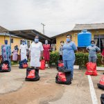 Food relief package to General Hospital, Ijebu Ode 4