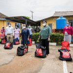 Food relief package to General Hospital, Ijebu Ode 5