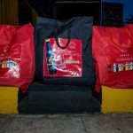 Packaging process of the food relief package4