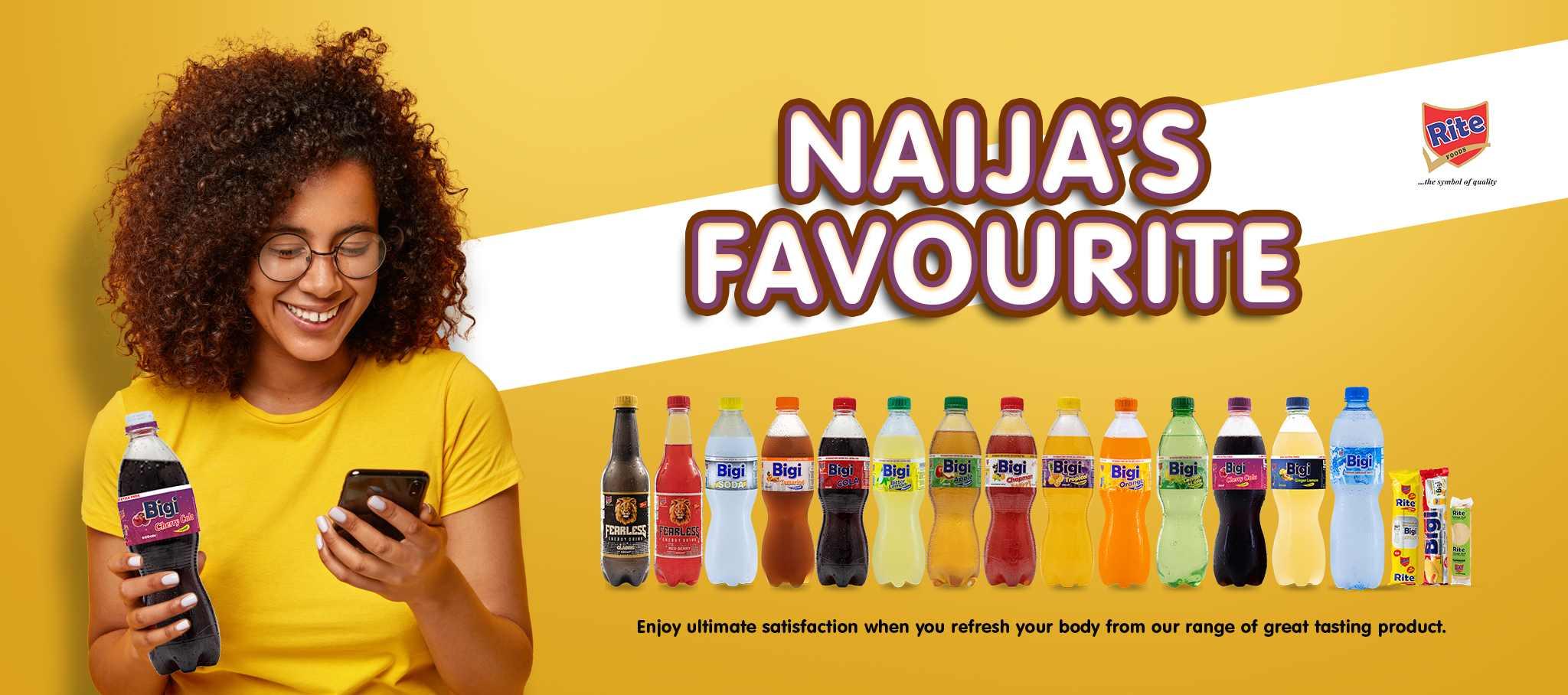 Naija's Favourite banner - Bigi, Fearless and Sausage
