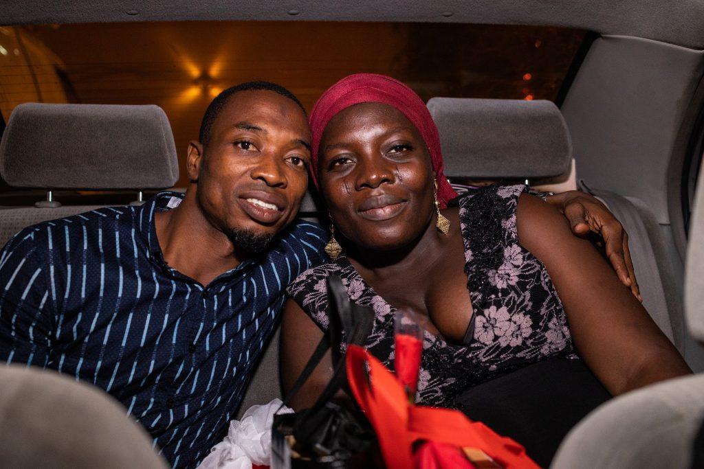 Couple in the Rite Love Ride